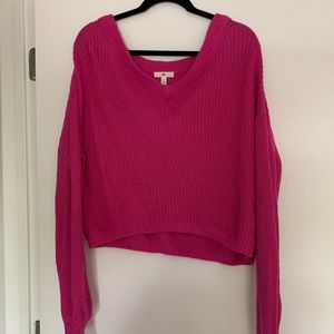 BP V Neck Cotton Sweater